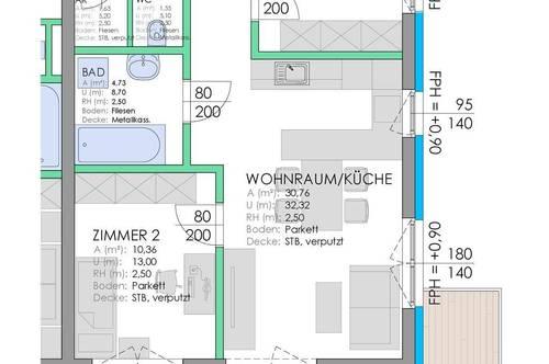 RESERVIERT - Top Stadtwohnung - Rizzistraße 7 - Nähe Stadtpark