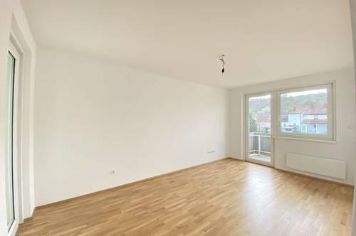 Helle gut aufgeteilte Wohnung mit 2 Balkonen!