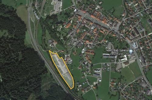 Gewerbegrundstück im Lavanttal/ehemaliges Sägewerk