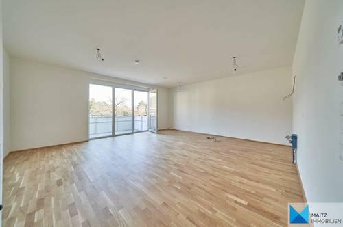ERSTBEZUG mit Bisambergblick: Großzügige, helle Balkonwohnung mit 3 Zimmern | inkl. Heizung/WW & Garagenplatz | optional mit Kleingarten