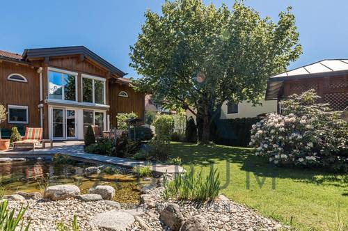 Landhaus mit Schwimmteich in ruhiger Lage