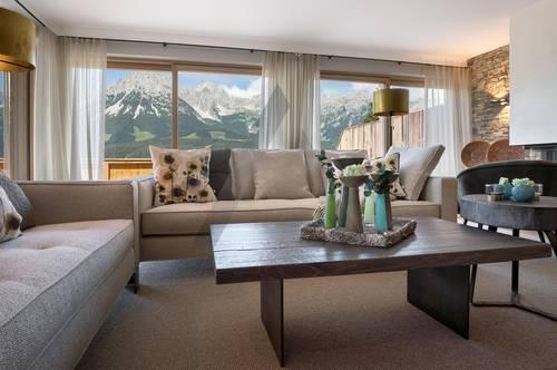Ski in / Ski out: Neubau-Penthouse mit Kaiserblick