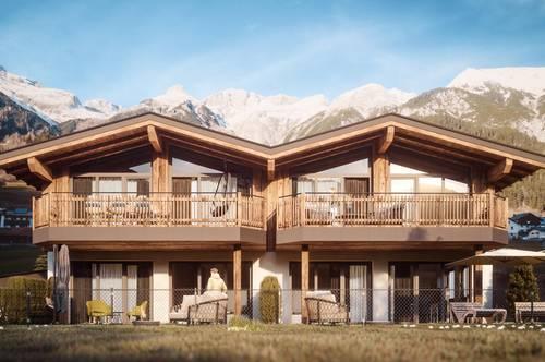 RESERVIERT A CASA Chalet Pettneu a. Arlberg Top 2 herrliche Terrassenwohnung mit Garten