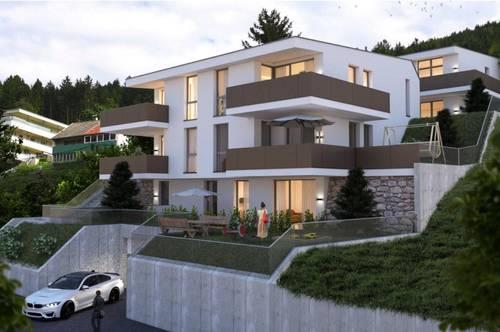 Wohnung mit Garten und Terrasse mit Blick über Innsbruck