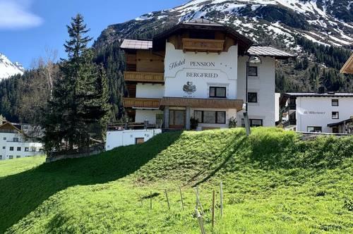 3* Hotel Pension mit unverwechselbarem Ambiente und Panoramablick in Galtür