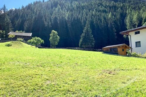 Einmalige Gelegenheit: Baugrund in Pettneu am Arlberg in herrlicher Aussichtslage