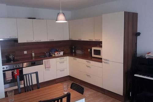 Ruhige Innenhoflage mit Wohnküche und Schlafzimmer