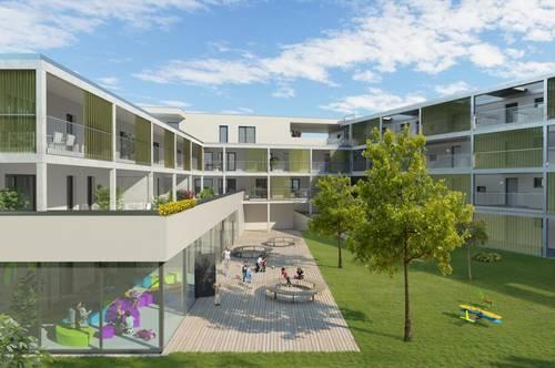 Top 9 - 2-Zi.-Wohnung mit Terrasse
