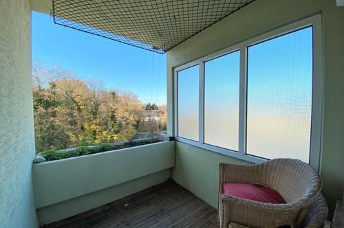 Großzügige & gut geschnittene 3 Zimmer Wohnung mit Loggia | Grünblick | Johann-Zisser-Straße