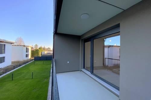 ERSTBEZUG: 3 Zimmer Neubauwohnung | Loggia | Einbauküche | inkl. PKW Stellplatz