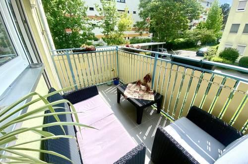 +++ WOHLFÜHLOASE +++ Helle 3-Zimmer-Wohnung mit Westbalkon in Straßgang