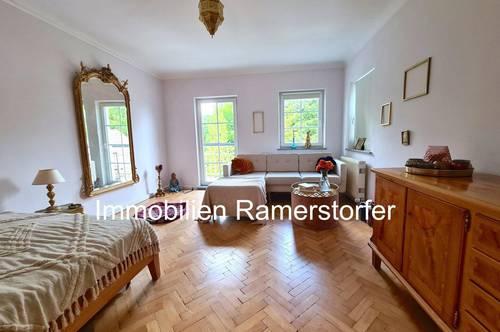 Terrassensitz + Altbaufeeling in Anif