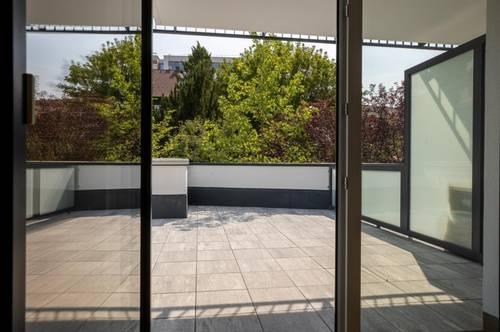 Mietwohnungen 42 m², großer Terrasse 33 m², mit Küche, Stadtmitte Mattersburg
