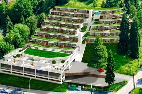 """Bauprojekt """"GRAMBACH"""" inklusive Baubewilligung mit Bodengutachten, 9 Wohneinheiten, PKW-Plätze, usw."""