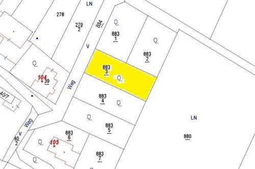 Bauplatz in neuem Siedlungsgebiet Kleinriedenthal 883/3