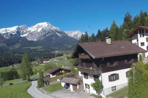 FERIENHÜTTE im Tal in den Kitzbüheler Alpen