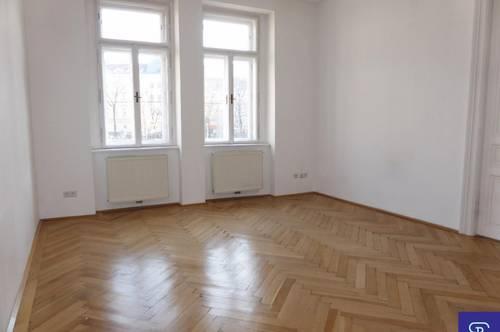 Parklage: südseitiger 59m² Stilaltbau mit Einbauküche - 1050 Wien
