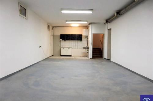 Unbefristete 186m² Souterrain-Lagerfläche - 1100 Wien