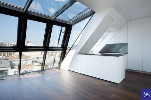 Exklusive 137m² DG-Maisonette + 32m² Terrasse mit Fernblick - 1050 Wien