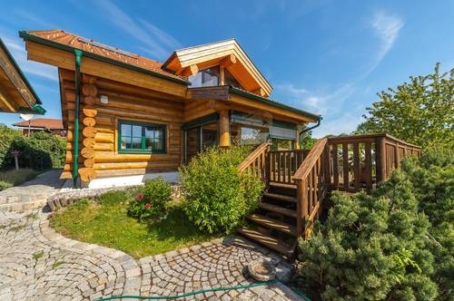 RARITÄT - Naturstammblockhaus in bester Qualität * Ökologisch *