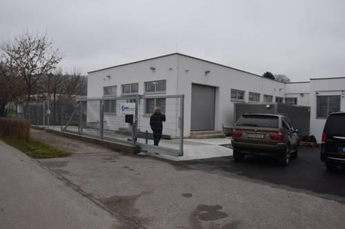 Lagerhalle, Erstbezug, Küche, Büro