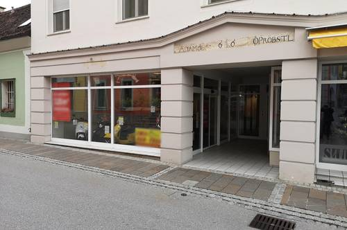Verkaufs/Bürofläche im Stadtzentrum von Hartberg