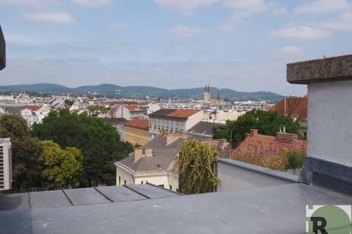 Genial im Neunten - Dachterrassenwohnung in gepflegtem Altbau!