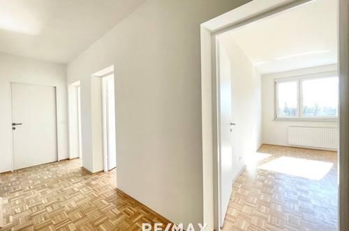 Einmalige Gelegenheit: Generalsanierte, attraktive 3-Zimmer-Eigentumswohnung mit Loggia und Parkplatz in Klagenfurt