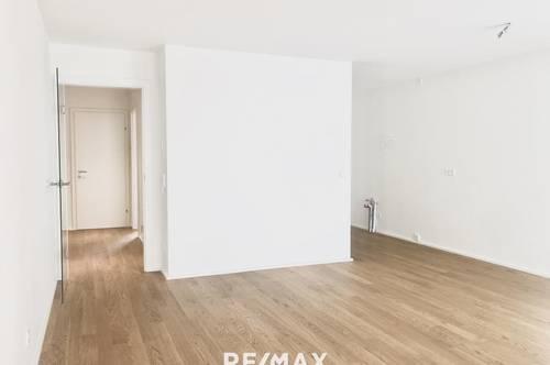 ERSTBEZUG! Moderne 2-Zimmer-Wohnung mit Loggia und Terrasse in der Innenstadt