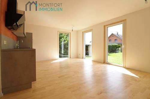 Nofels: ruhige 3 ,5-Zimmerwohnung (ca. 67m²) mit Garten (ca. 48m²), ideal für Grenzgänger, zu vermieten!