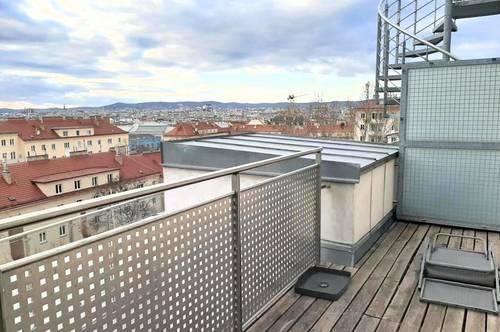 2 1/2 Räume - Panorama Fernblick - neuwertige Terrassenwohnung U1