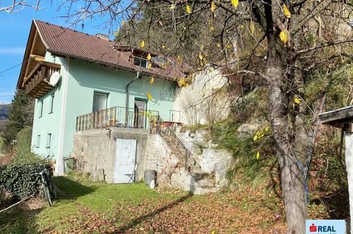 Wohnhaus im Grünen mit großem Garten und eigener Wasserquelle im Mölltal