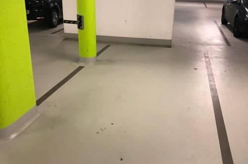 ANLEGERHIT: vermieteter TG-Parkplatz im Urbaneum Waidmannsdorf!