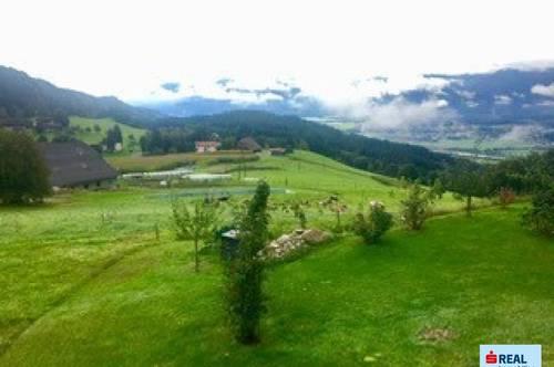 Naturliebhaber aufgepasst! Grundstück ideal für Selbstversorger Nähe Spittal/Drau