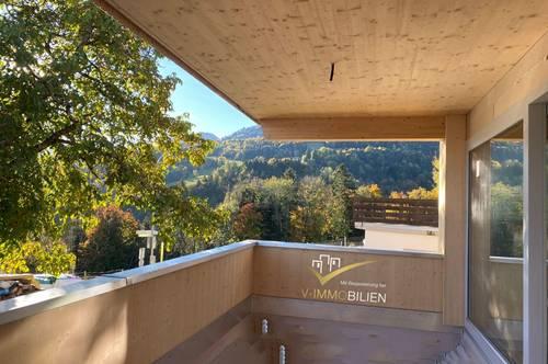 Erstbezug - Neubau - 3 Zimmer Wohnung - Terrasse und Carport