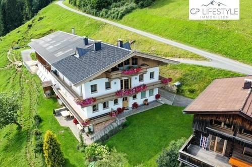 Ski-In/Ski-Out Rarität - Berg-Lounge mit Freizeitwohnsitz und einzigartigem Bergblick aufs Brixental