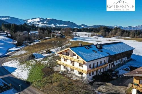Exklusive Dachgeschosswohnung mit Freizeitwohnsitz auf Bauernhof in super Lage