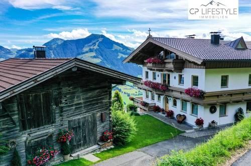 Ski-In/Ski-Out Rarität - Alm-Suite mit Freizeitwohnsitz und einzigartigem Blick aufs Brixental