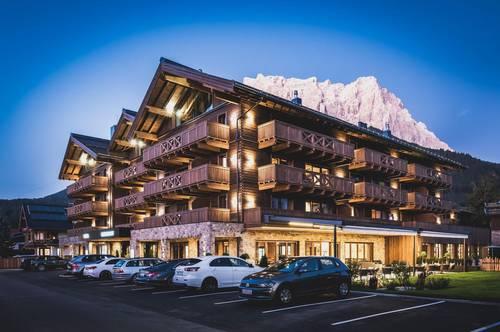 Penthouse am Fuß der Zugspitze
