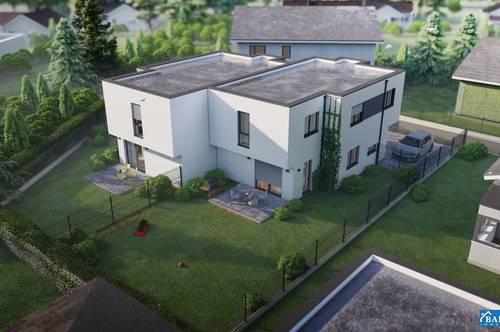 +++NEUBAU ERSTBEZUG+++ Exklusive Doppelhaushälfte in ruhig gelegener Sackgasse
