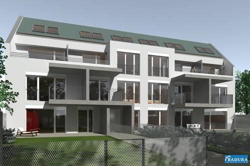 Erstbezug! **Provisionsfrei** 3-Zimmer MAISONETTE Wohnung + Terrasse + Garage + Eigengarten, inkl. Stellplatz Tiefgarage!!!