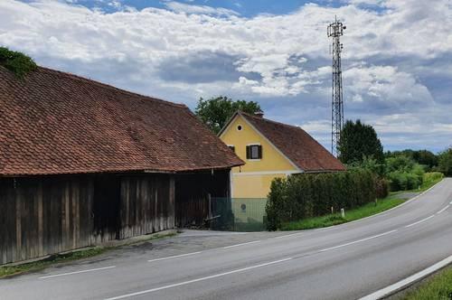 Hofstelle mit landwirtschaftlichen Flächen