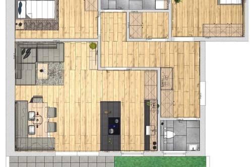 3-Zimmer Gartenwohnung Neubau Top 1
