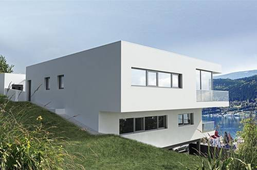 Neubauprojekt VIVET MILLSTATT mit unverbaubarem SEEBLICK
