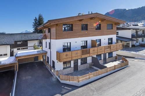 Doppelhaus-Anlage am Zentrumsrand von Ellmau in Tirol