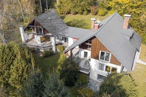 Architekten-Doppelwohnhaus nahe Klagenfurt