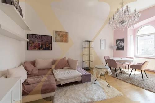 2-Zimmer-Altbauwohnung mit 16m² großem Balkon inmitten der Linzer Innenstadt zu vermieten!