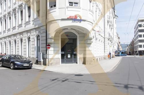 Hochwertige, ebenerdige Bürofläche im Zentrum von Linz zu vermieten!