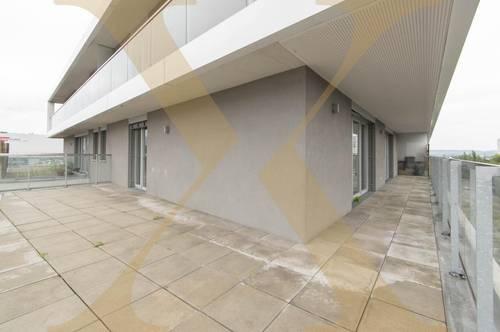 Moderne 3-Zimmer-Wohnung mit großzügiger Terrasse und Loggia zu vermieten (Top 76)