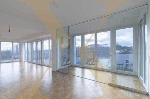 Lichtdurchflutete ca. 100,82m²-Wohnung mit Terrasse und Wintergarten in Linz zu vermieten (Top 52)
